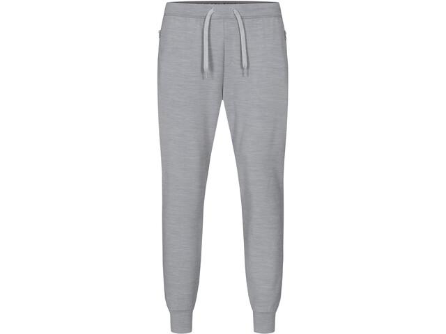 super.natural City Pantalones Hombre, silver grey melange